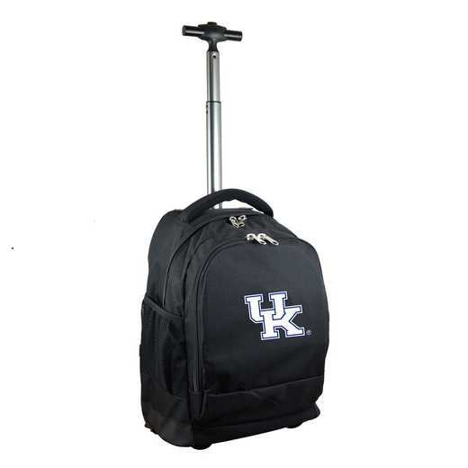 CLKYL780-BK: NCAA Kentucky Wildcats Wheeled Premium Backpack